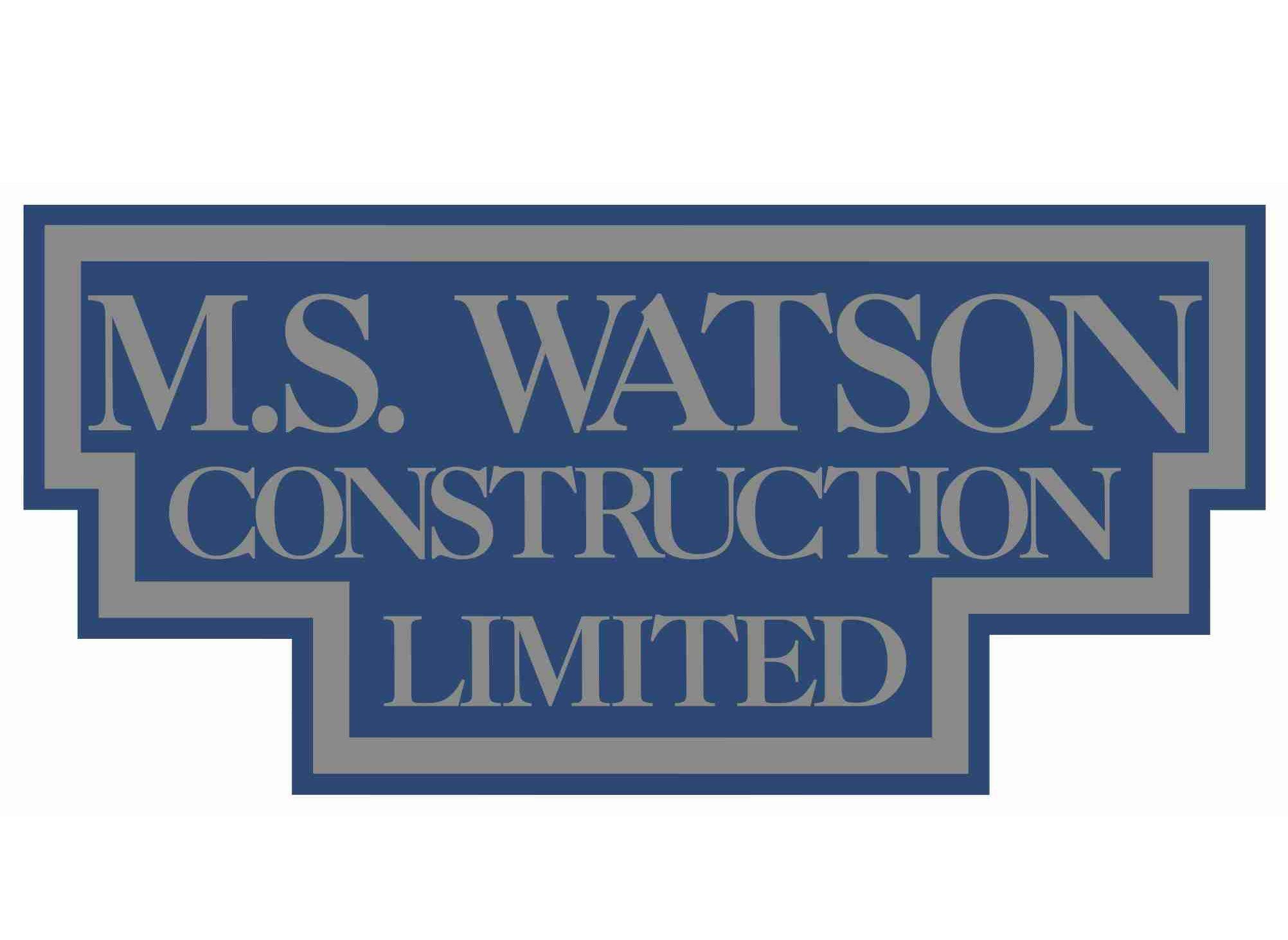 MS Watson Construction